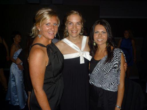 Jen, Chantal et Leanne